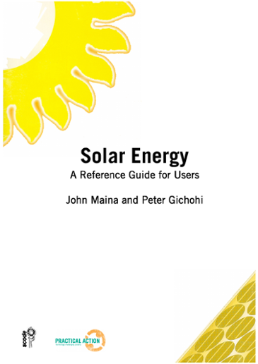Solar Energy: A Reference Guide for Users