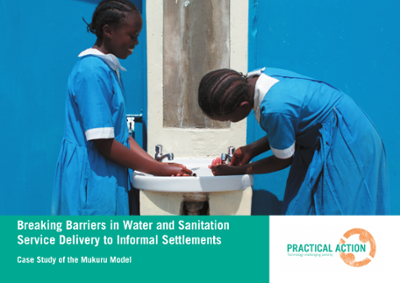 Breaking Barriers in Water and Sanitation Service Delivery to Informal Settlements