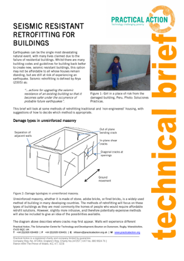 Seismic Resistant Retrofitting for Buildings