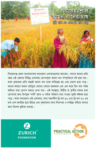 Flood Resilient Rice Cultivation