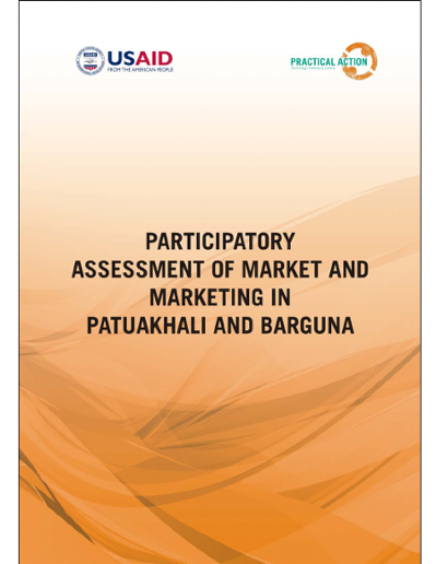 Participatory Assessment of Market and Marketing in Patuakhali and Barguna