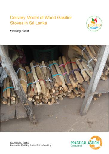 Delivery Model of Wood Gasifier Stoves in Sri Lanka