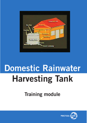 Domestic Rainwater Harvesting Tank: Training Module