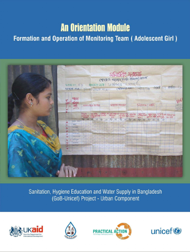 An orientation module on Formation and Operation of Monitoring Team (Adolescent Girl)