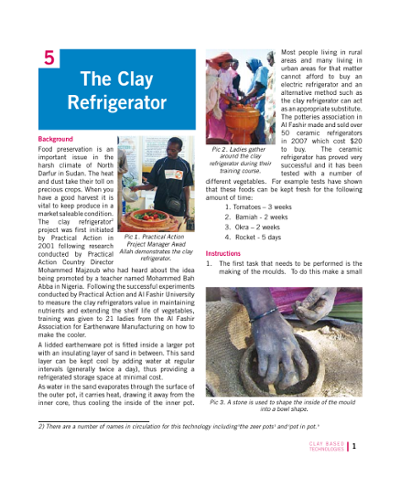 The Clay Refrigerator
