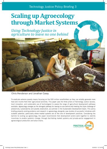 Scaling up Agroecology Through Market Systems